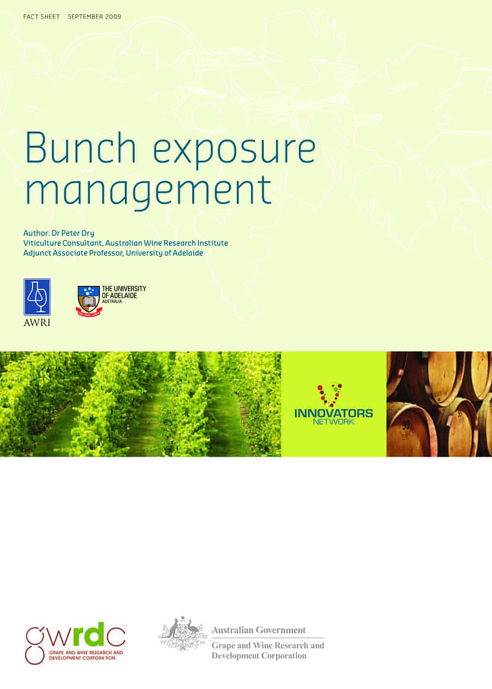 Bunch exposure management
