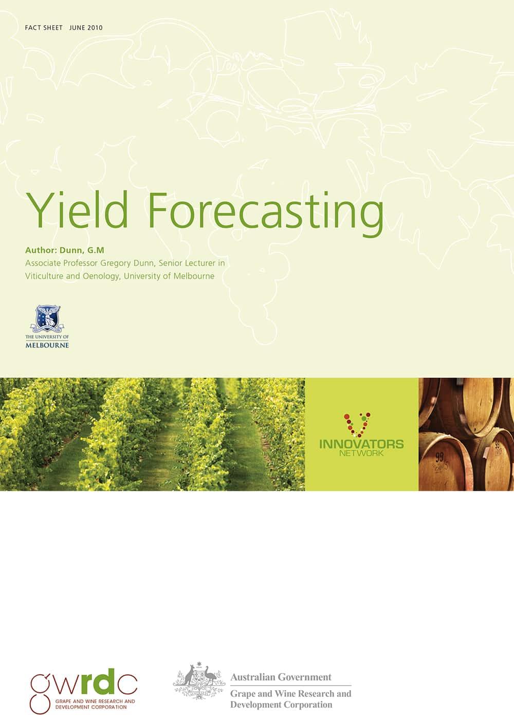 Yield Forecasting