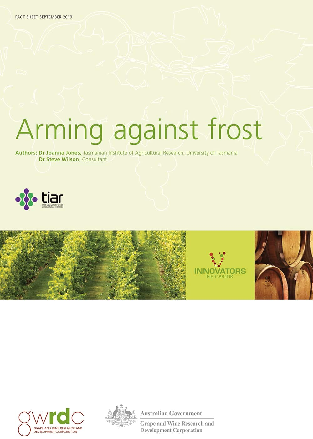 Arming against frost