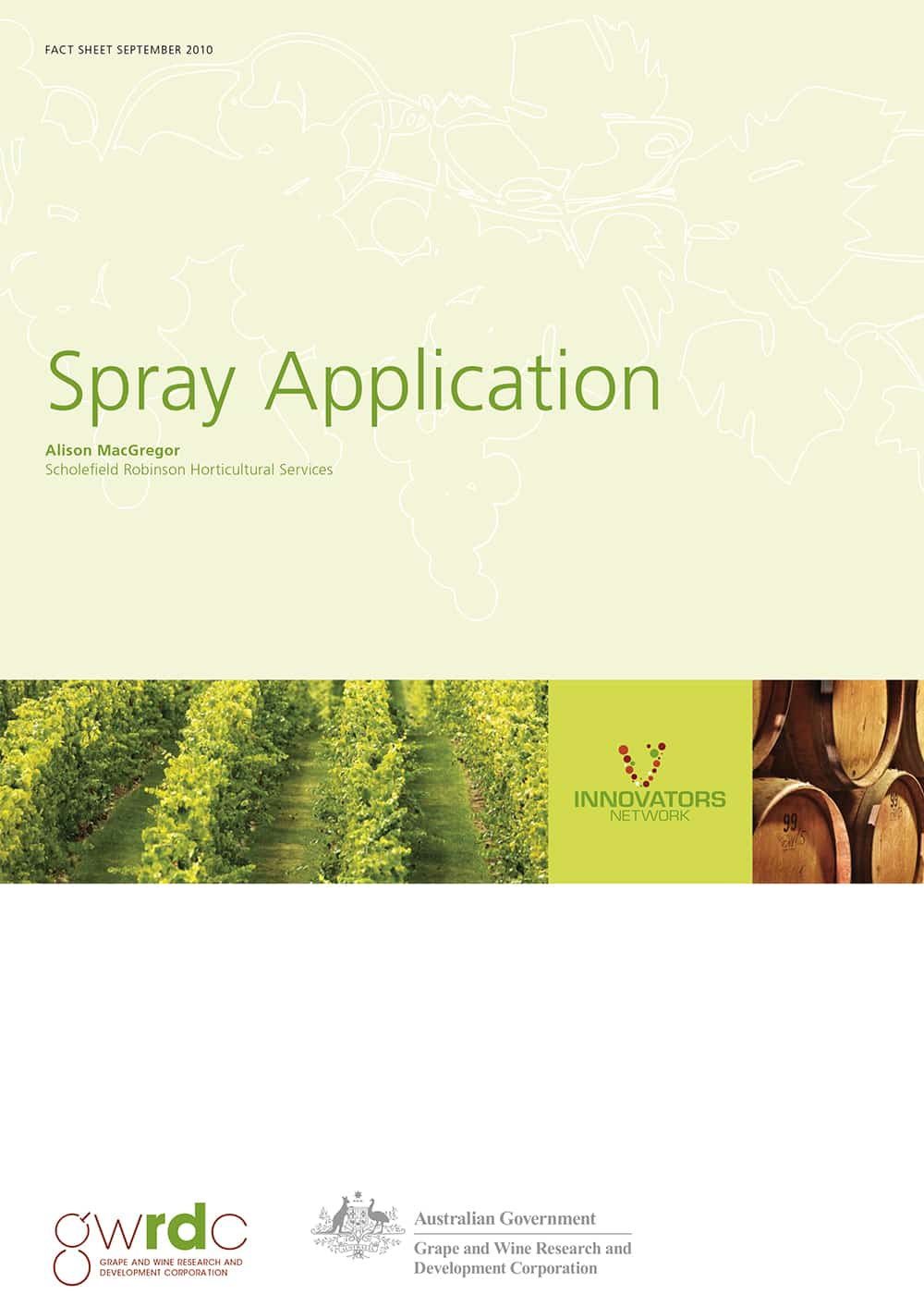 Spray Application