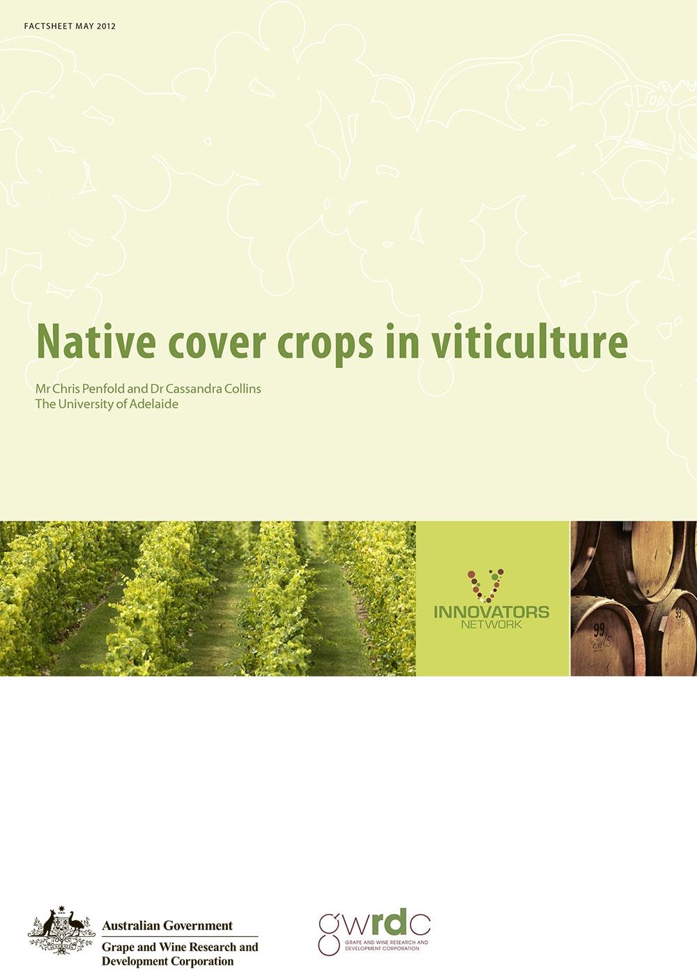 Native cover crops in viticulture