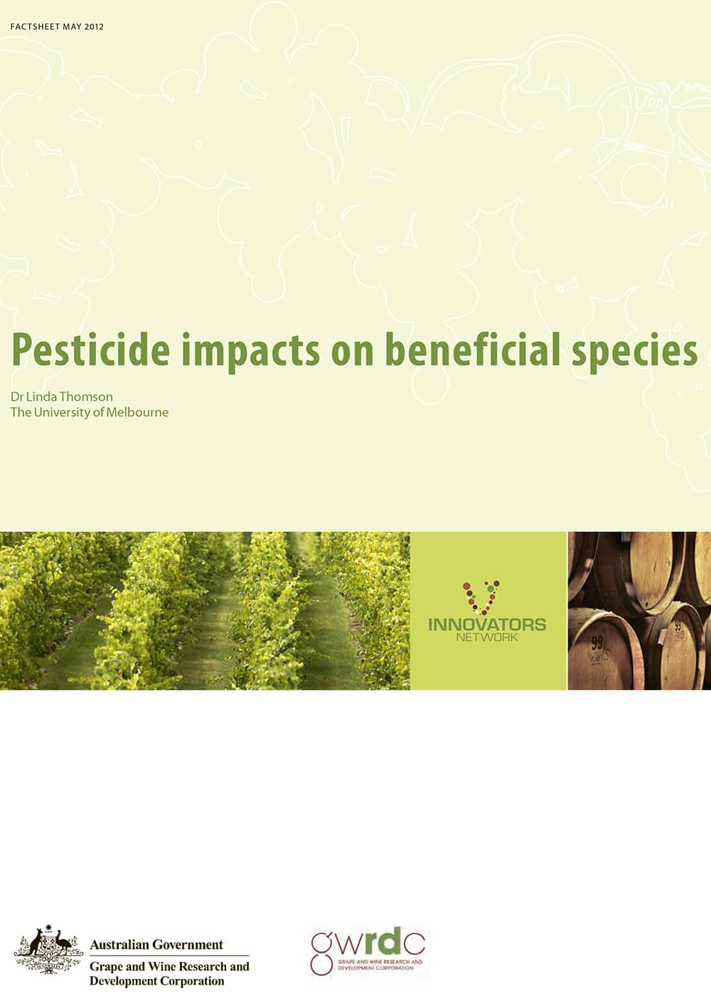 Pesticide impacts on beneficial species
