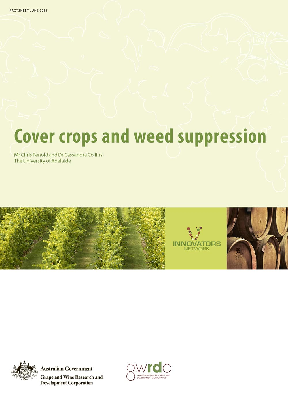 Cover crops and weed suppression