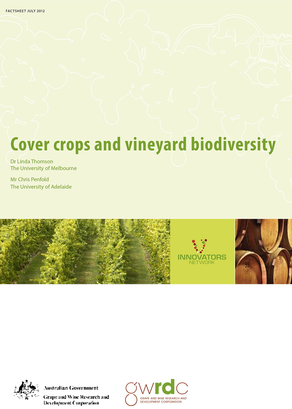 Cover crops and vineyard biodiversity