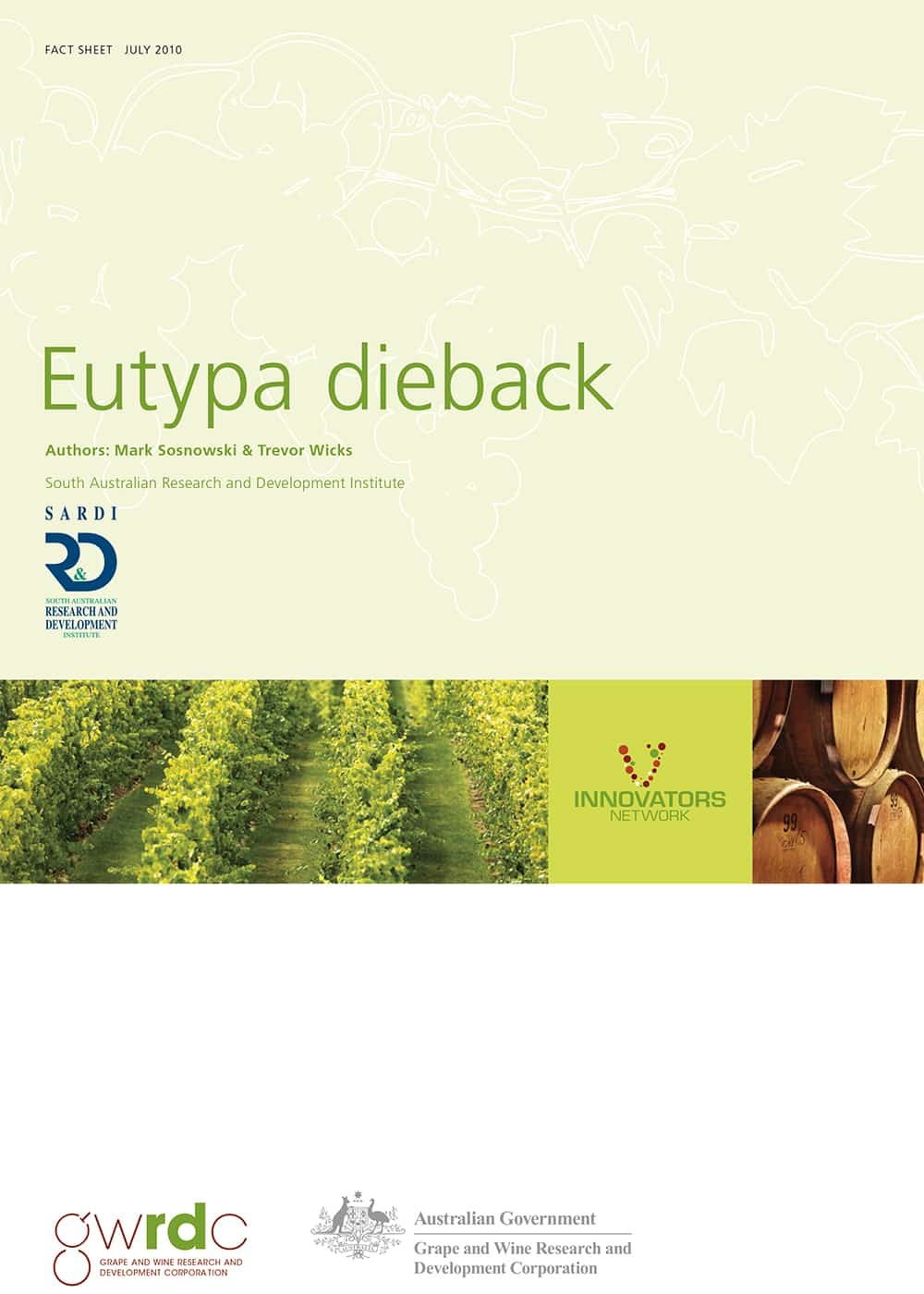 Eutypa Dieback
