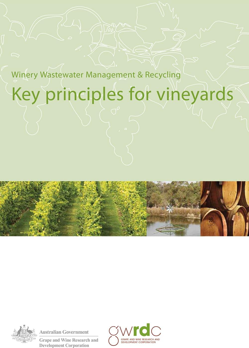 Key principles for vineyards