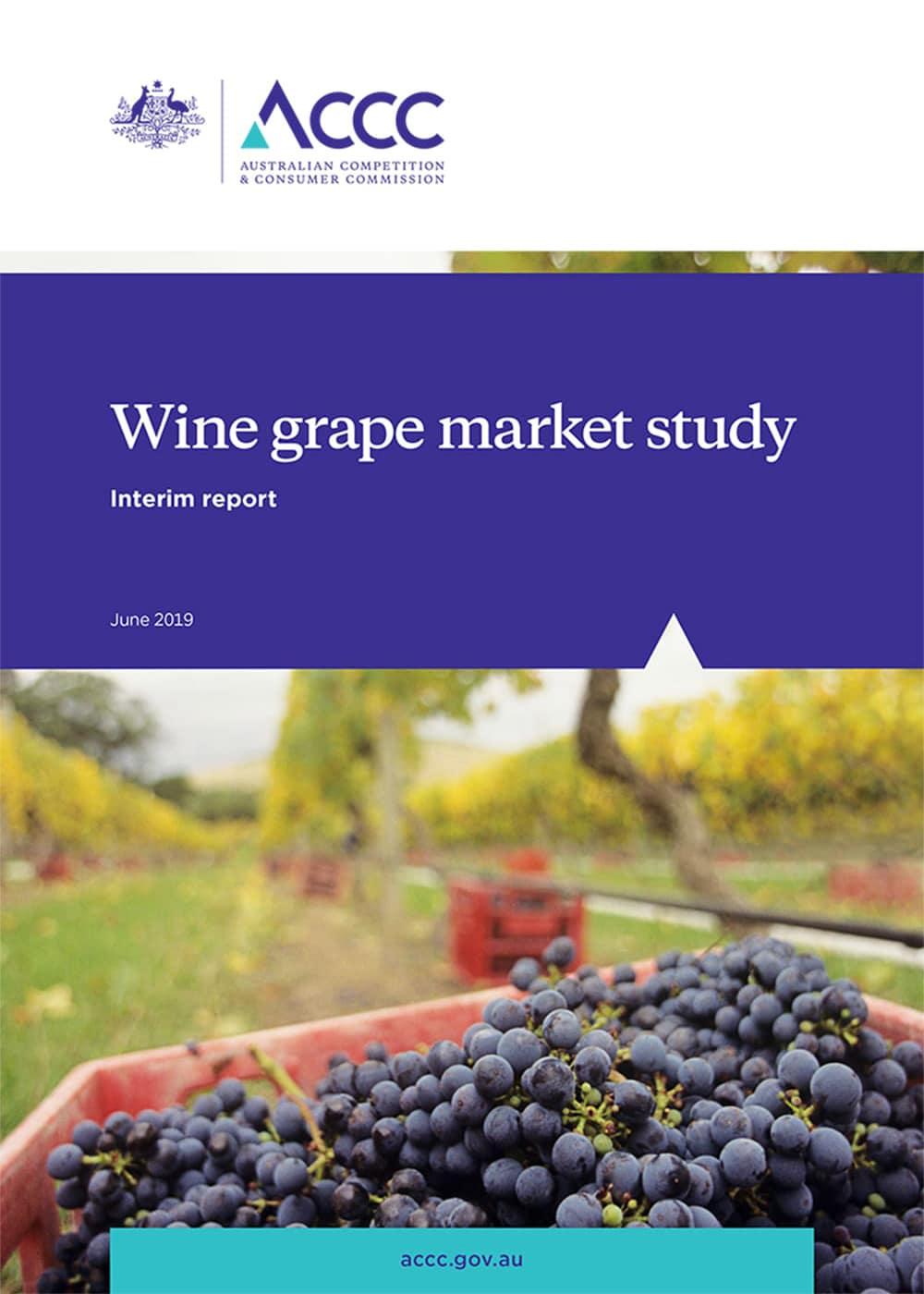 ACCC Winegrape Market Study - Interim Report