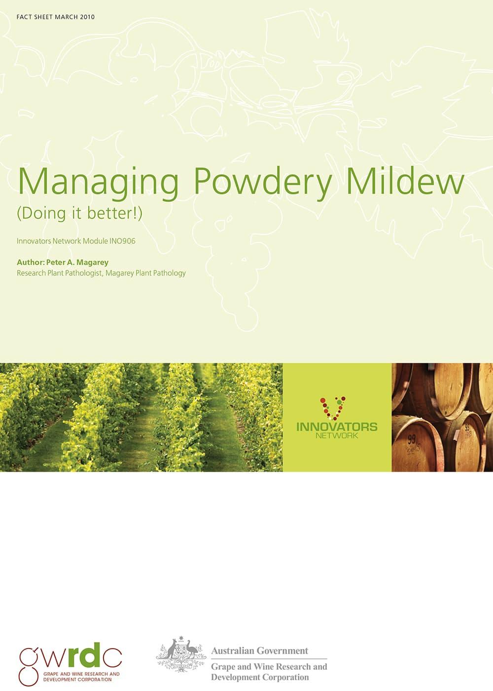 Powdery Mildew Factsheet