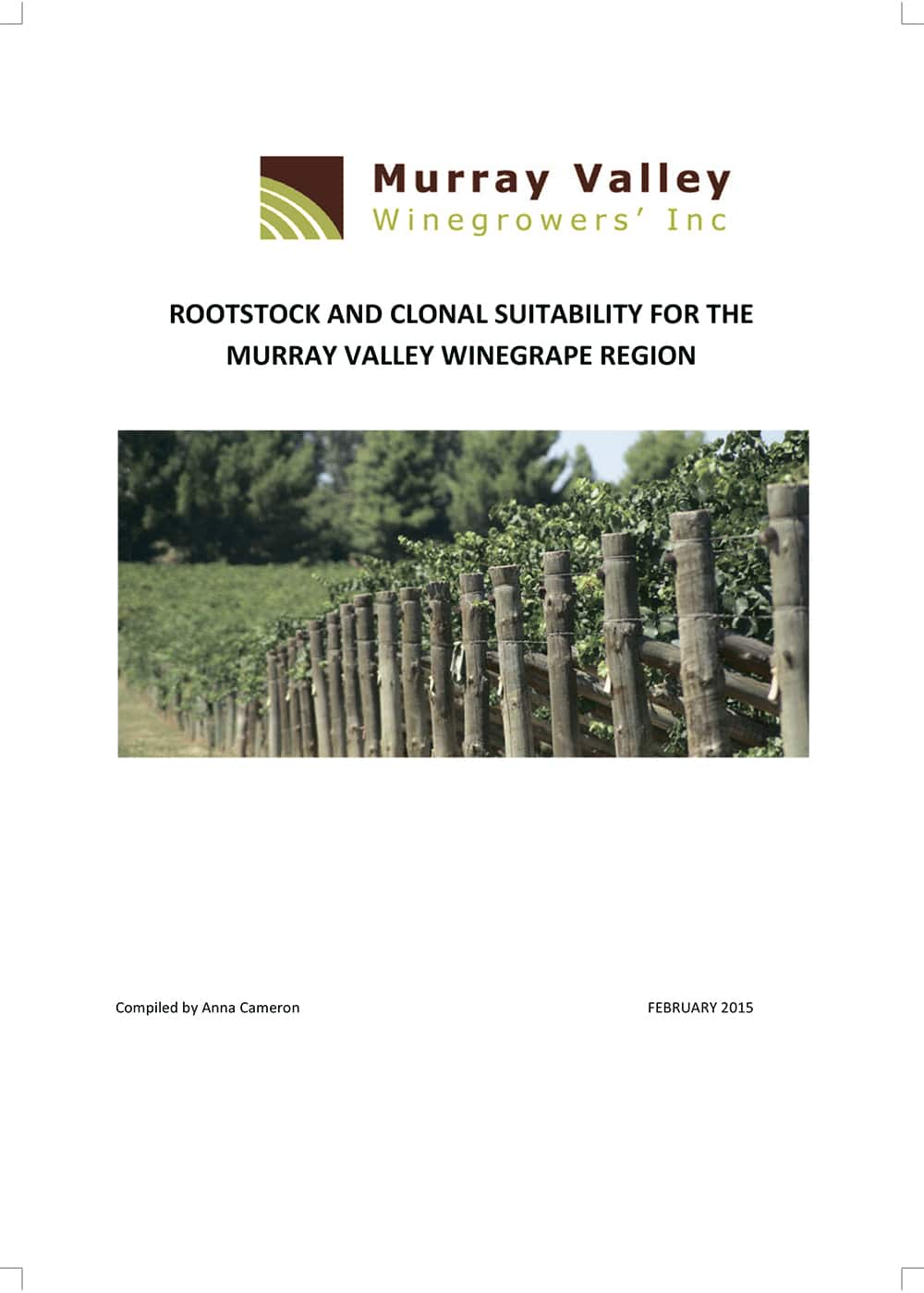 Rootstock & Clonal Suitability for Murray Valley