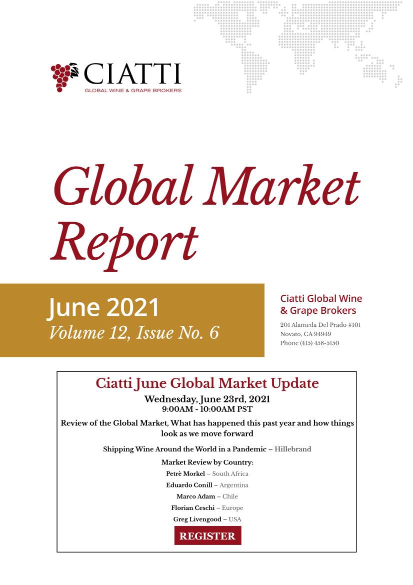 Ciatti Wine & Grape Brokers Global Market Report